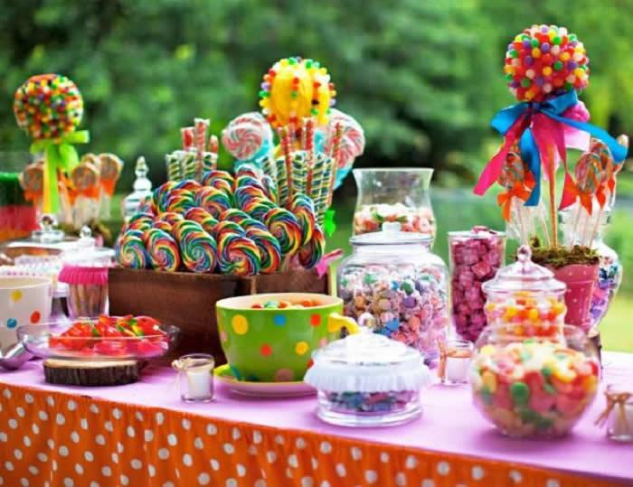 Mesas de postres para eventos y fiestas barra de postres - Postres para mesa de dulces ...